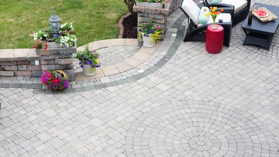 beautiful block paving that has been installed by our team